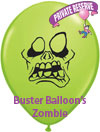 Buster+Balloon%27s+Zombie+5%22+Lime+Green